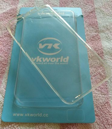 Mobilni telefoni - Ruma: Novo ne korisćeno vkworld v700 silikonska maska