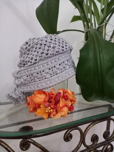 Повойник, тюрбан, платок, шляпа одно изделие заменит многие. Красивый