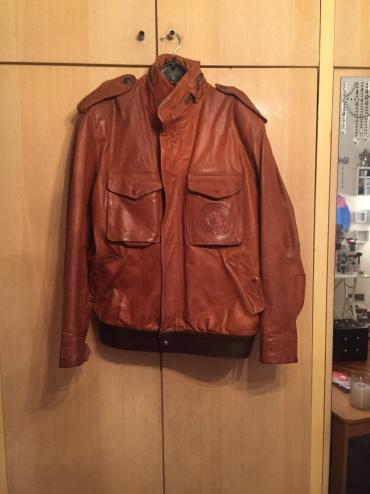 Muska kozna jakna, l velicina - Pozega