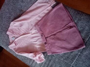 Suknja - Srbija: Košulja i suknja Zara kids u odličnom stanju, cena košulje 400din a