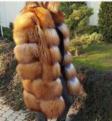 шубу из песца в Кыргызстан: Продаю новую шубу трансформер из скандинавской лисы 3/1.размер