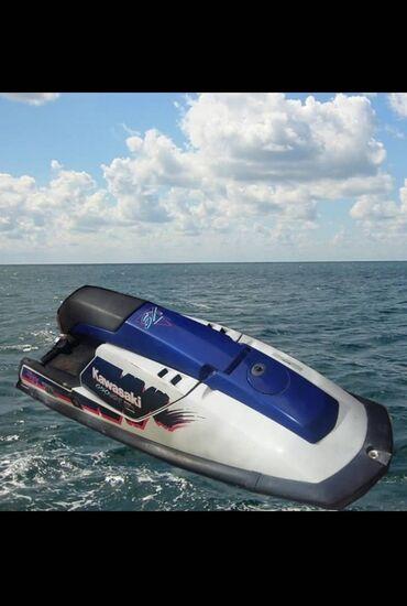 Водный транспорт - Кыргызстан: Продаёт два водных скутер!1-й скутер Кавасаки Синиго цвета 650 клубов