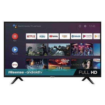 """bt адаптер для наушников в Кыргызстан: Телевизор 32"""" hisense 32b6700ha  (android 9, голосовой поиск,smart tv"""