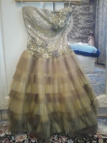 Женская одежда в Кант: Продаю платье. Новое. Так и не одевалось. Привезли из Италии год