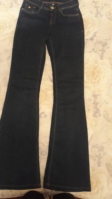 Продаю джинсы темно-синего цвета,размер 34. в Бишкек