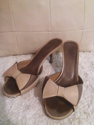 Kozne italijanske papuce 37 br - Pancevo