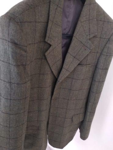 Пиджак мужской, 50 размер, состояние отличное, производства Турции