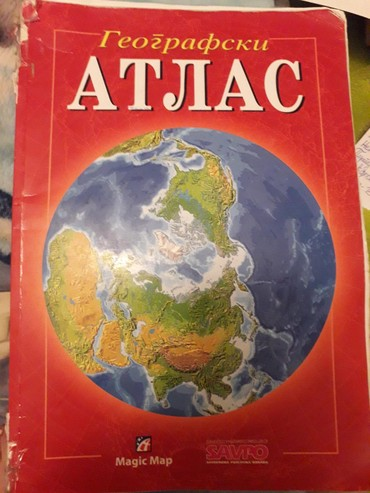 Geografski atlas, magic man... - Ub