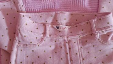 H&M nove,prelepe helanke-pantalone sa likrom 7-8godina - Subotica