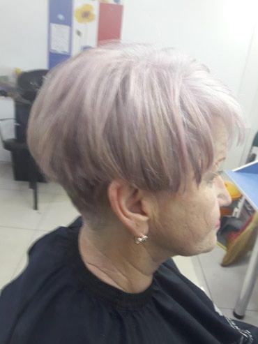 Окрашивание волос , колорирование в Бишкек