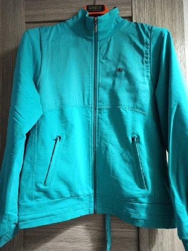 сумка спортивная эйвон в Кыргызстан: Спортивная куртка на молнии (лёгкая) цвет бирюзовый