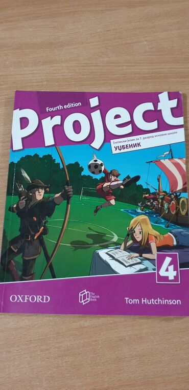 Knjige, časopisi, CD i DVD | Batajnica: Engleski jezik udzbenik za sedmi razred osnovne skole kao nov bez