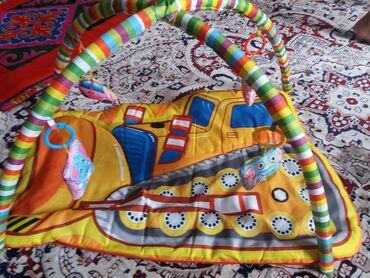 Детский мир - Маевка: Развивающий коврик. качество хорошее. игрушки мягкие безопасные как