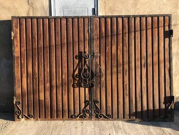 Ворота для гаража Б/У 4000 сом