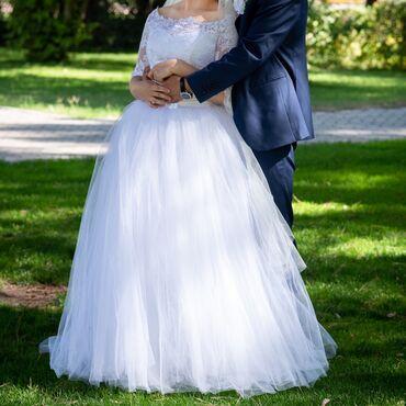 Платье для подружек невесты - Кыргызстан: Продаю свадебное платье  Покупала в Москве в салоне Wonderland  Наде