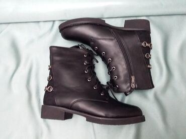 Alcatel 2000 - Кыргызстан: Ботинки зимние кожаные  размеры 36-40 цена:2000