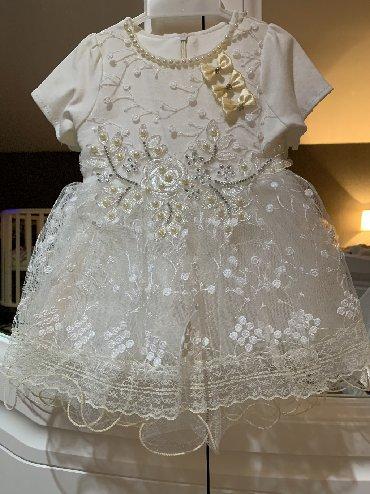 платье для мамы и дочки на годик в Кыргызстан: Продаю новое платье размер на годик. к сожалению этикетку порвали(