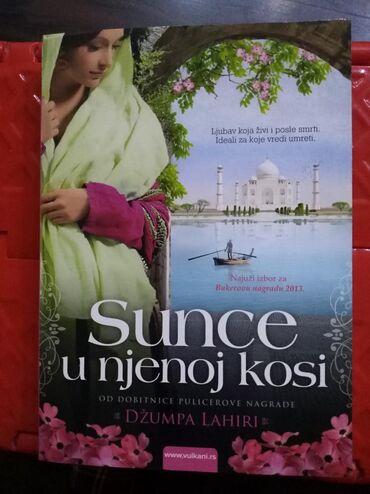 Knjige, časopisi, CD i DVD | Mladenovac: Sunce u njenoj kosi- Dzumpa Lahirinovo,nekoriscenoIzdavac VulkanBroj