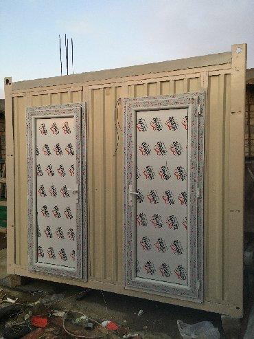 konteyner 40 tonluq - Azərbaycan: 2 otaqlı WC, Tualet Konteyner SATILIR və icarəyə (kirayə, arenda)
