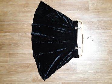Юбка бархатная Размер M - L