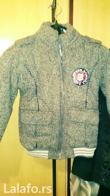 Dečije jakne i kaputi | Kikinda: Decija zimska bomber jakna za decake 6-7