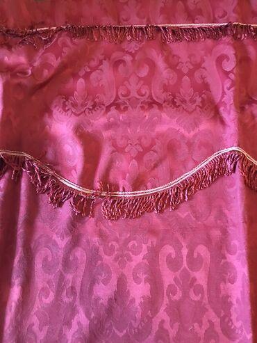 Kućni dekor - Novi Sad: Stilske draperije nove nekoriscene bordo boje cena 3500 din