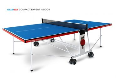 купить теннисный стол в Кыргызстан: Теннисный стол start line compact expert indoor blue 6042-2 серия