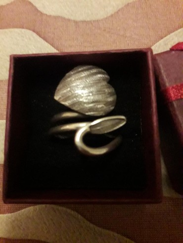 Серебро,кольцо эксклюзив  цена 2000сом. в Бишкек