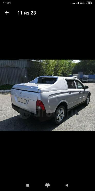 ssangyong new actyon в Кыргызстан: Ssangyong Actyon Sports 2 л. 2009 | 192000 км