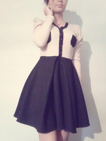 Корейское платье! Теплое, можно носить в Бишкек