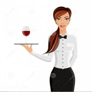 Bakı şəhərində Prestijli restorana ofisiant xanim teleb olunur.Is qrafiki