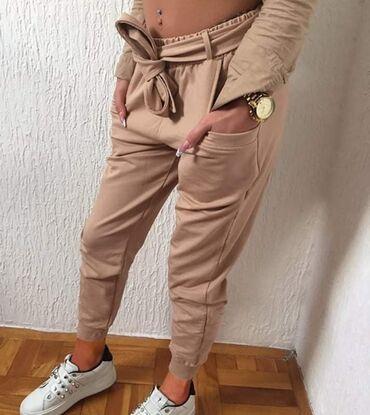 Ženske pantalone - Srbija: Kapucino crna belaKomad 1450 dinara 2 komada 2300 dinara Pamuk elastin