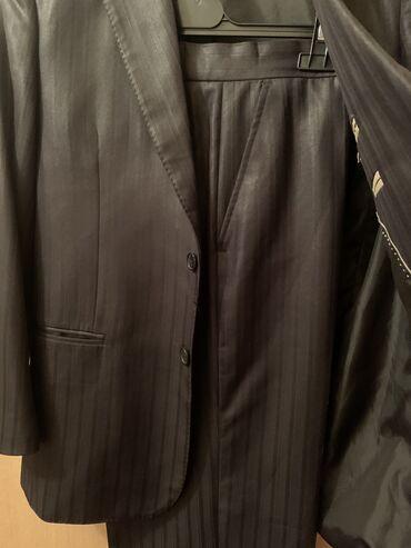 Классический костюм мужской на средний рост 48размер пиджак брюки оде