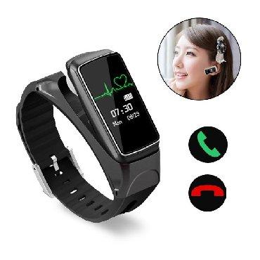 elektron termometr - Azərbaycan: Yeni model smart saat  Bluetooth qulaqcıq smart Watch mh17-02   Smar