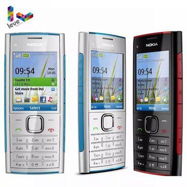 nokia-x-dual-sim в Азербайджан: Nokia X2-00 Cep Telefonu Bluetooth FM MP3 MP4 Oyuncu Orijinal Nokia X2
