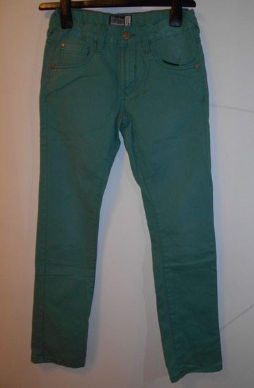 Pantalone awg - Srbija: C&A Decije muske pantalone prolecne, pamucne, zelene boje, za