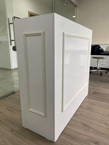 Мебель - Кыргызстан: Продаю ресепшн!Абсолютно новый!Из дорогого ламината!Сделали для себя