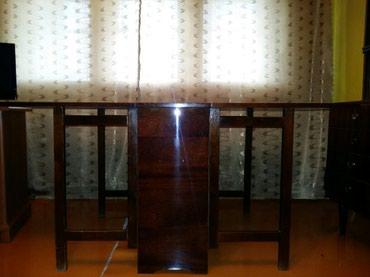 раскладной стол книжка в Кыргызстан: Стол-книжка, раскладной, производство СССР, натуральное дерево (
