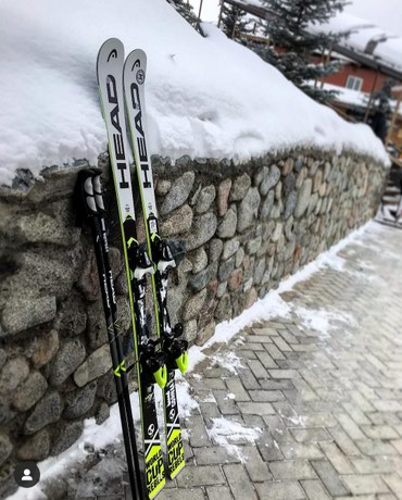 Всем привет. Продаю горные лыжи Head WC в Бишкек