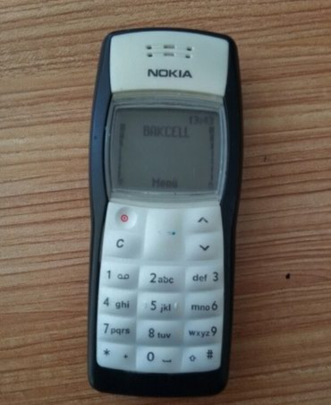 Göytəpə şəhərində Yaxsi vəziyyətdədir problemi yoxdur. Orginal Nokia 1100