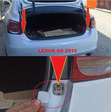 Заглушка от Lexus GS 2010