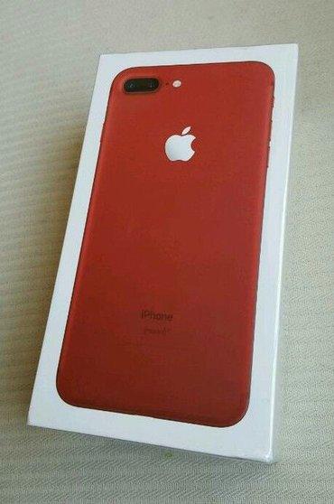 Bakı şəhərində iphone 7 PLUS 128GB  elde var teze bagli qutuda upakobka topdan