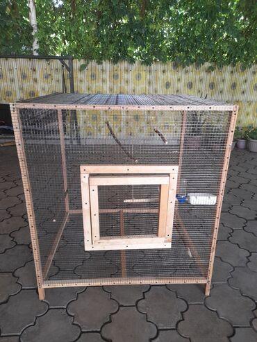 Животные - Новопокровка: Вольер для попугаев или других видов декоративных птицРазмер