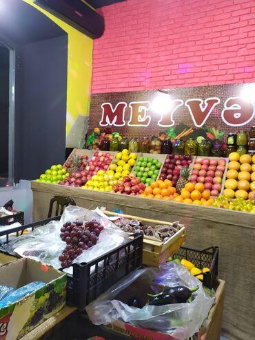 Kommersiya daşınmaz əmlakı - Azərbaycan: Hazir biznes meyve terevez. Gedis gelisli yerdir. Icindeki mallar ve s