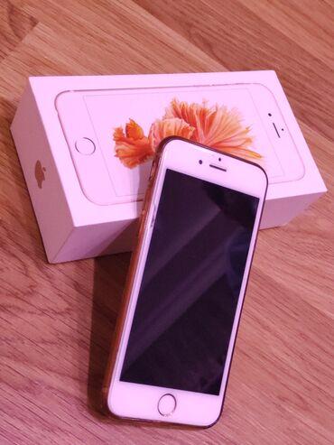 iphone 5 gold - Azərbaycan: İşlənmiş iPhone 6s 16 GB Cəhrayı qızıl (Rose Gold)