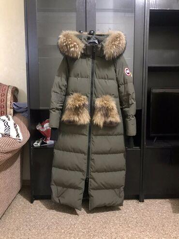 Срочно продам зимнюю куртку брала новая. Качество хорошее