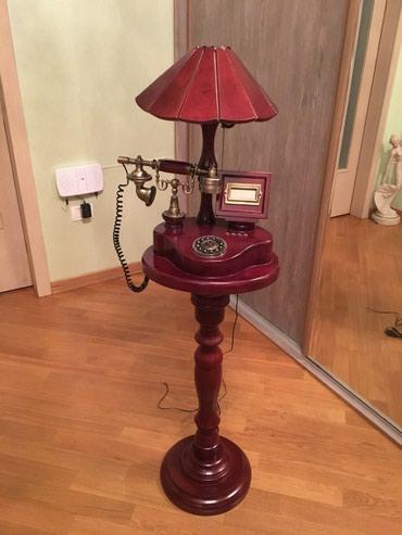 Bakı şəhərində Torsher stoyka abajur + telefon. Qiymetde razilashma mumkundu.