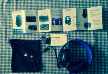 Bakı şəhərində Playstation gold wireless headset for :ps4,ps3,pc,mobile. 1 il islenib