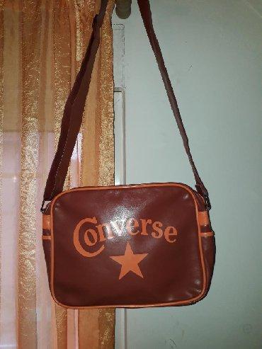 Ostalo | Crvenka: RASPRODAJA!!! CONVERSE ORIGINAL kožna torba, kao nova, jednom nošena