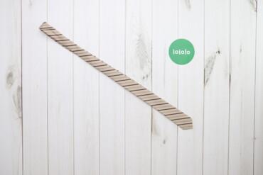 Аксессуары - Украина: Чоловіча бежева краватка Lucino    Довжина: 135 см Ширина: 5 см  Стан